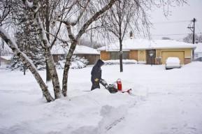 Snow Blowing in West Allis