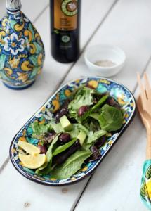 Avocado and Olive Salad