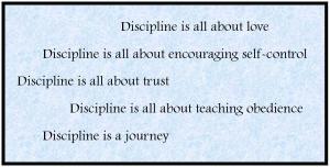 end-discipline