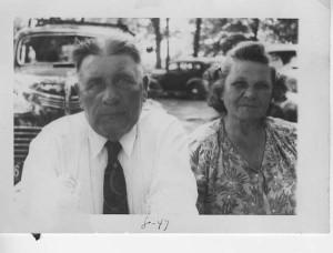 Grandma and Grandpa / 1947