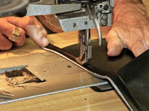 sewing upholstery