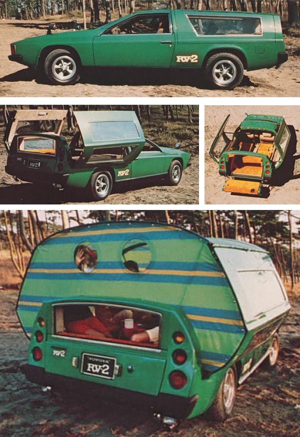 Toyota Concept Car -- 1972