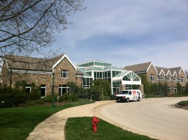 The new Welcome Center