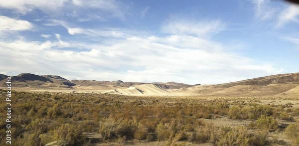 Sand Dunes in Nevada