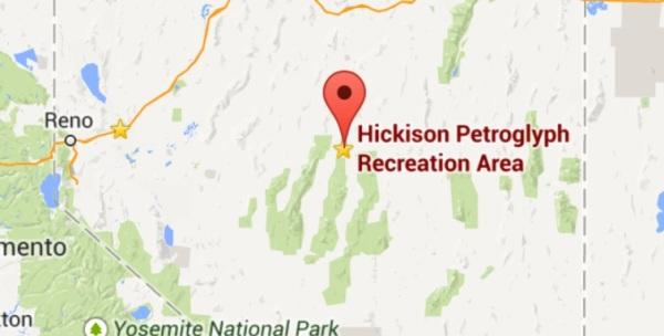Hickison Petroglpyh