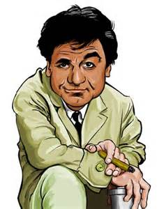 Peg is our Lieutenant Columbo... You remember him, don't you?