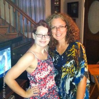 Melanie and Kathryn