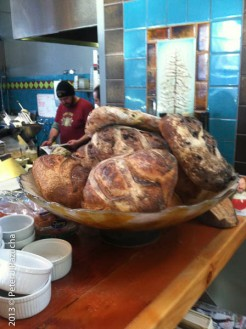 Artisanal Breads at the brewery