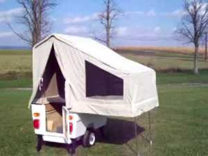 motorcycle popup camper