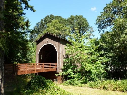 Pass Creek Covered Bridge