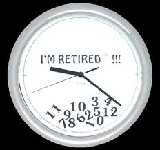 Time to get our retirement clock out of storage!