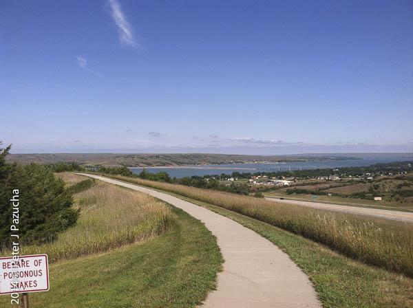 The view near Chamberlain S.D.
