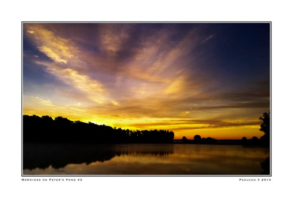 Sunrise on Peter's Pond
