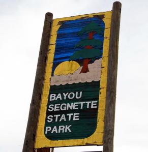 Bayou_Segnette_State_Park_Sign