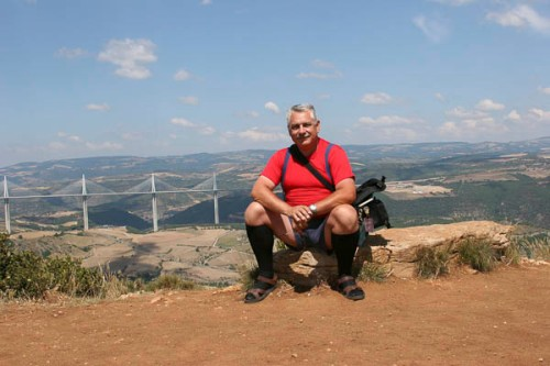 On a photo trip in France, that's the Viaduct de Millau
