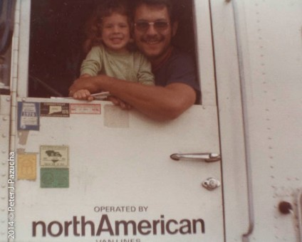 There were three short periods in my life when I drove truck. Once when Kathryn was quite young.