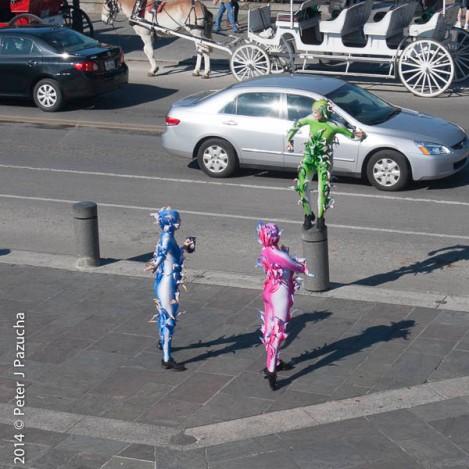 Cirque du Soleil is in town...