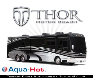 Diesel Pushers with Aqua-Hot Heating System (Luxury Class A Motorhomes and RV Brands)
