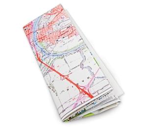 folded-map