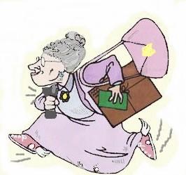 grandma running errands