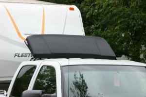 Rooftop wind deflector