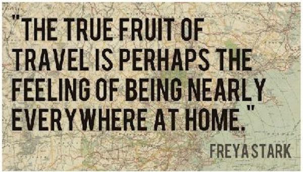 The True Fruit of Travel
