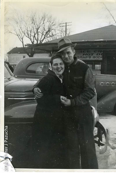 Mom and dad about the time I was born