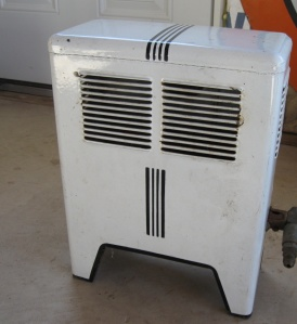 natural gas space heater
