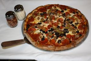village pizzaria pizza