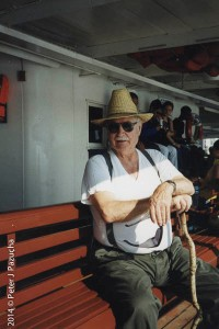 Dad, on a trip he and I took to Toronto CN