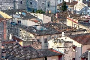 Roofs in Avignon