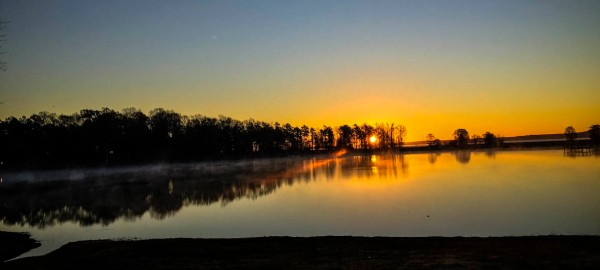 The Sunrise Tuesday Morning.
