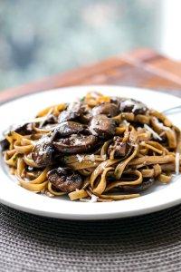Balsamic-Mushroom-Pasta