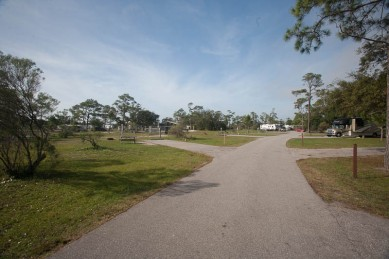 Another view of Ft Pickens Campground