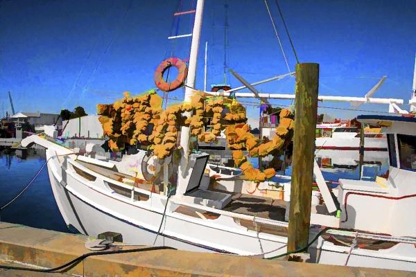 Tarpon Sponge Boat