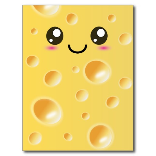 Cheese Happy Face