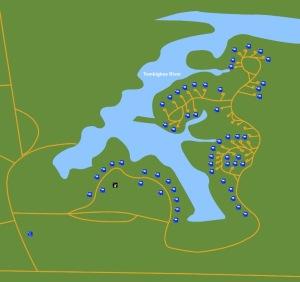 foscue creek map