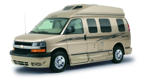 I'm sure you all know what a Roadtrek looks like. My dad wanted one of these in the worst way!
