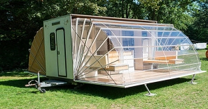 "This looks like such an interesting idea.  Probably wouldn't transport very well, but a ""Florida Room"" on an RV! :-)"