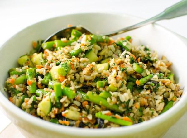 Asparagus-Sushi-Salad