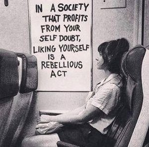 liking yourself