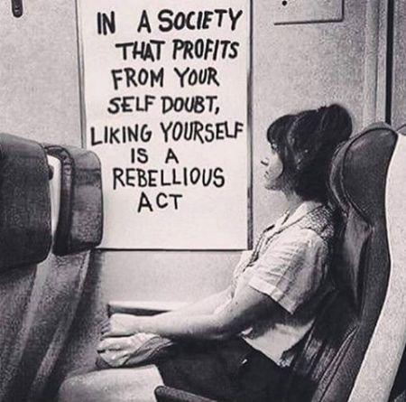 liking yourself