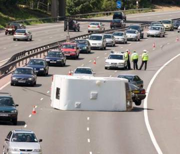 motorway accident