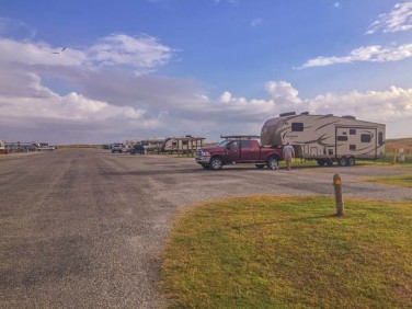 The camping loop is pretty basic, but this close to the Gulf who needs more than basic?