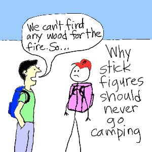 why-stick-figures-should-never-go-camping