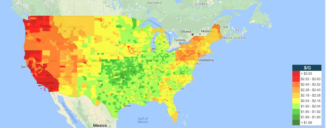 gas-price-heat-map