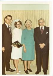 Us and Peg's maternal grandparents