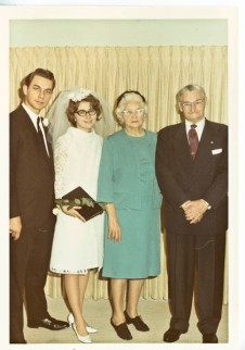Us and Peg's maternal grandparents