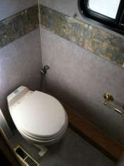 Newer HI rise toilet for us seniors who like a little more height