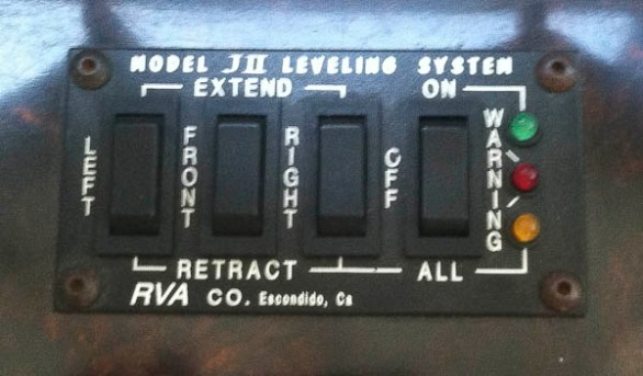 Leveling jack system
